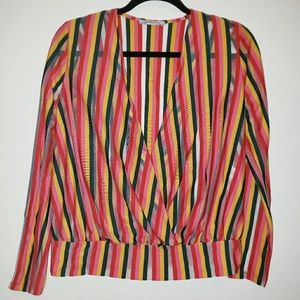 Zara | Striped Blouse